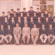 Class Monitors (1s, 2nd) 1984-85