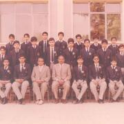 Group Photo Of Students First in Each Section 1985